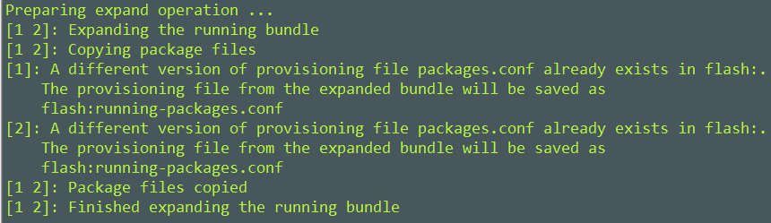 Converting Cisco IOS-XE Software from Bundle Mode to Install