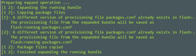 Converting Cisco IOS-XE Software from Bundle Mode to Install Mode