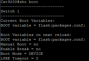 Catalyst 9200 Upgrading IOS-XE 16 9 2 onward (Install Mode)